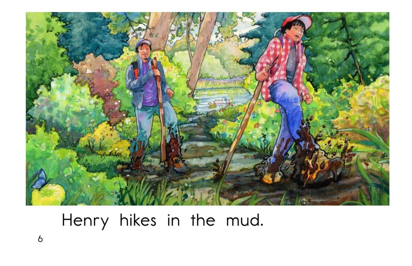Book Preview For Henry's Hike Page 6