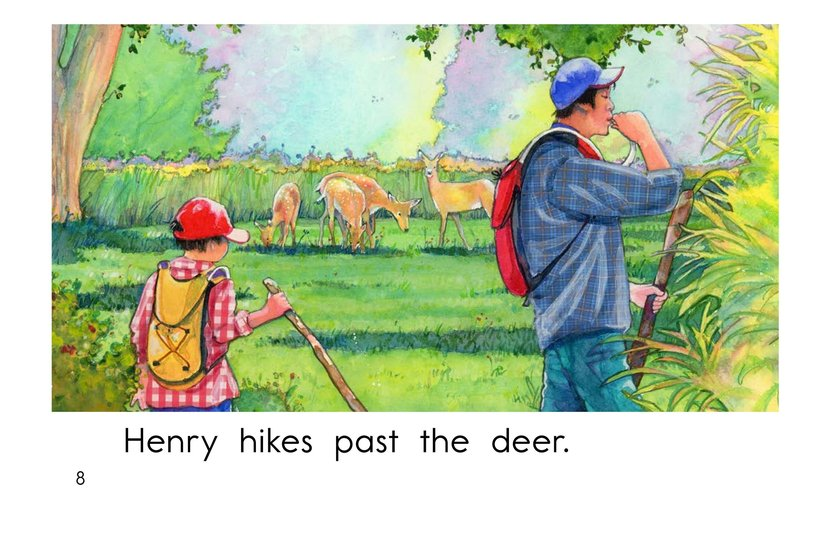 Book Preview For Henry's Hike Page 8