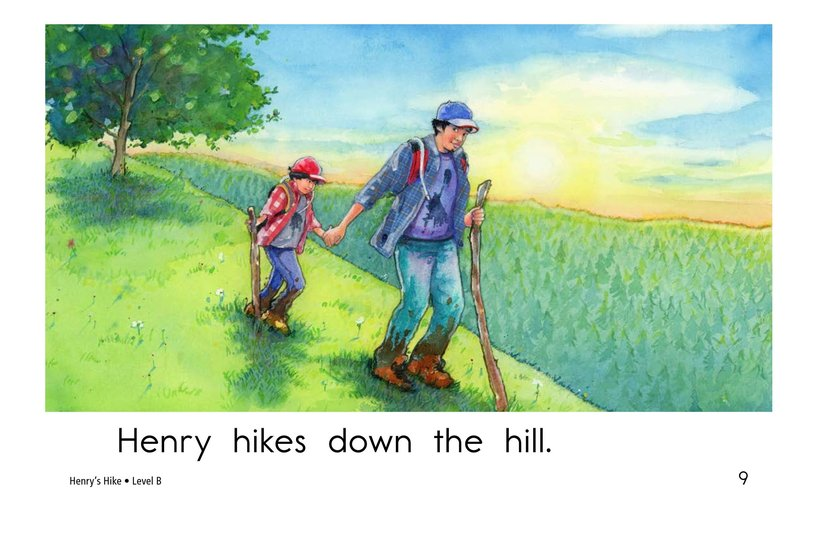 Book Preview For Henry's Hike Page 9