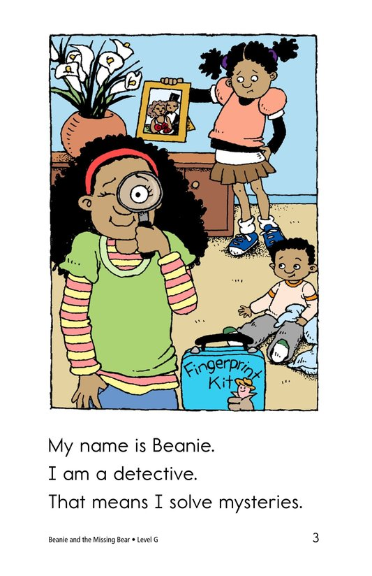 Book Preview For Beanie and the Missing Bear Page 3