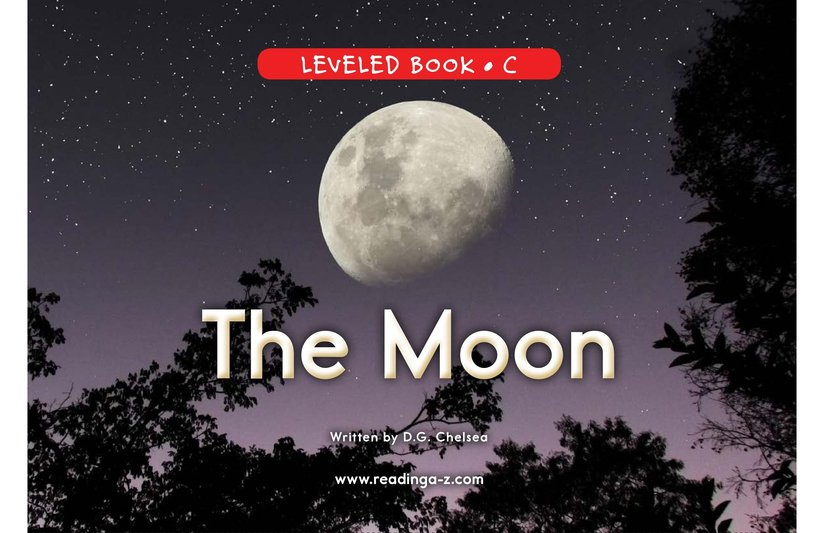 Book Preview For The Moon Page 0