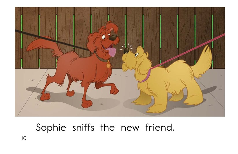 Book Preview For Sophie Goes for a Walk Page 10