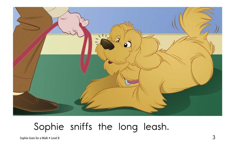 Book Preview For Sophie Goes for a Walk Page 3