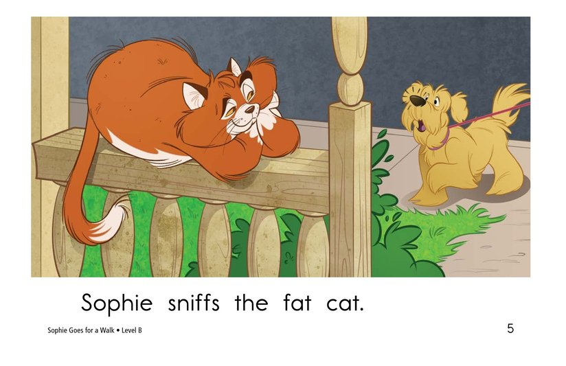 Book Preview For Sophie Goes for a Walk Page 5