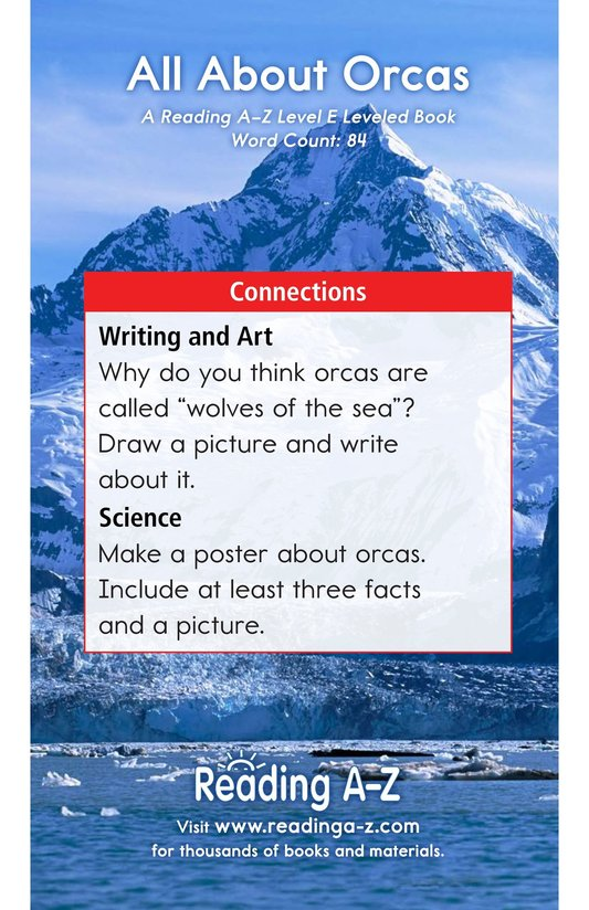 Book Preview For All About Orcas Page 13