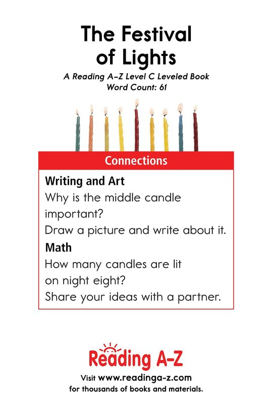 Book Preview For The Festival of Lights Page 11