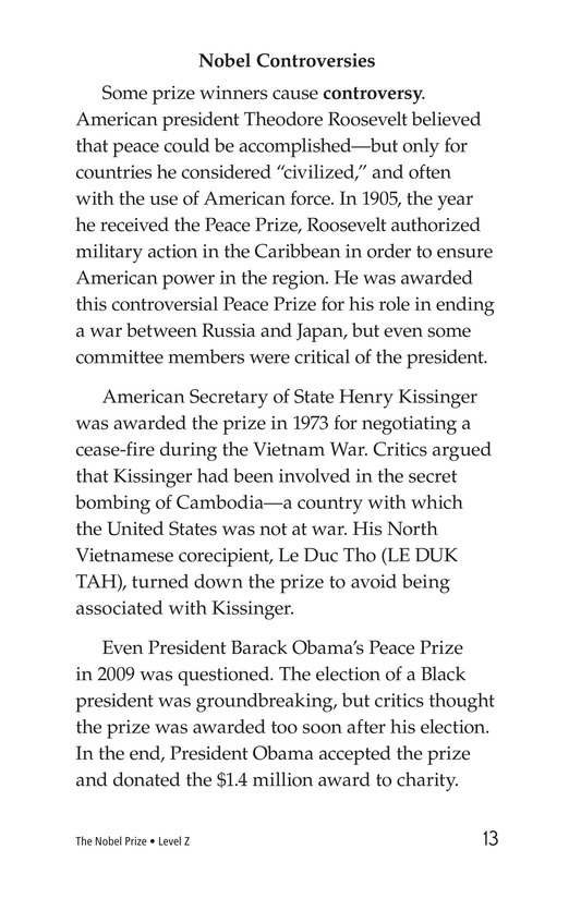 Book Preview For The Nobel Prize Page 13