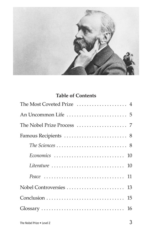 Book Preview For The Nobel Prize Page 3