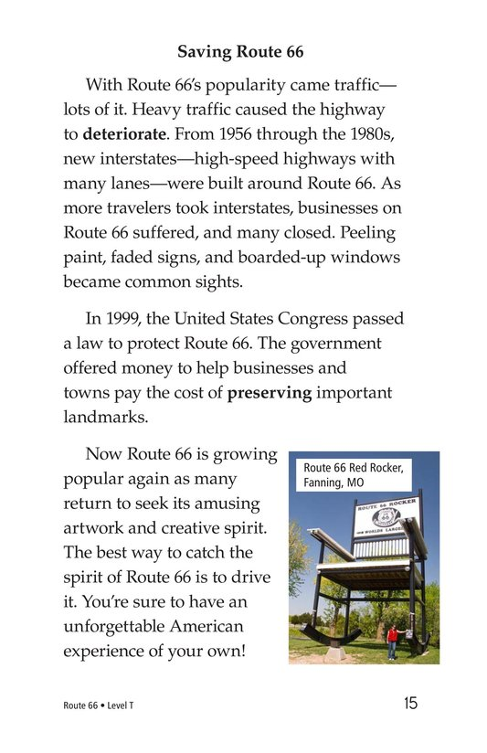 Book Preview For Route 66 Page 15