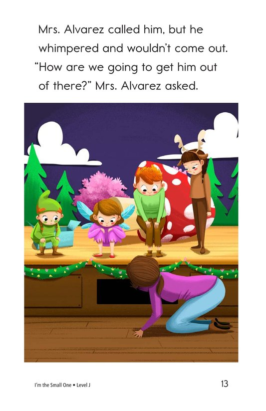 Book Preview For I'm the Small One Page 13