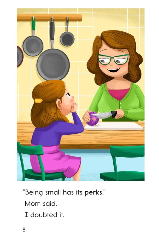 Book Preview For I'm the Small One Page 8