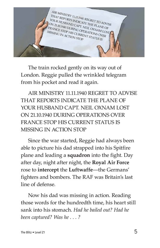 Book Preview For The Blitz Page 5