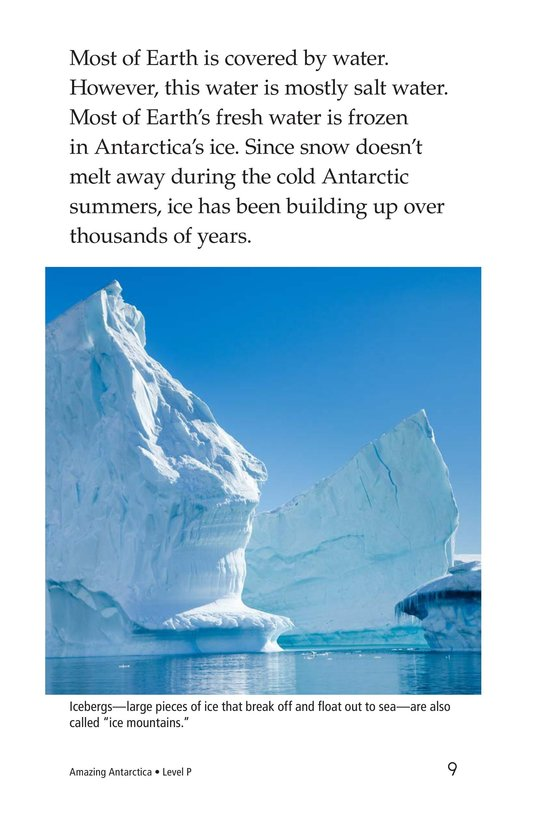 Book Preview For Amazing Antarctica Page 9