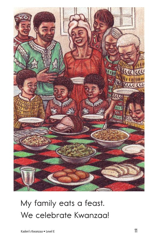 Book Preview For Kaden's Kwanzaa Page 11