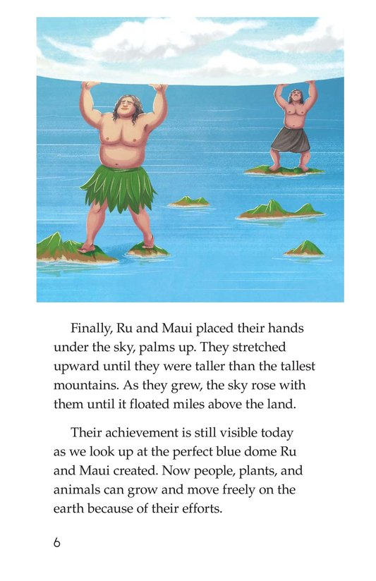 Book Preview For The Hero Maui Page 6
