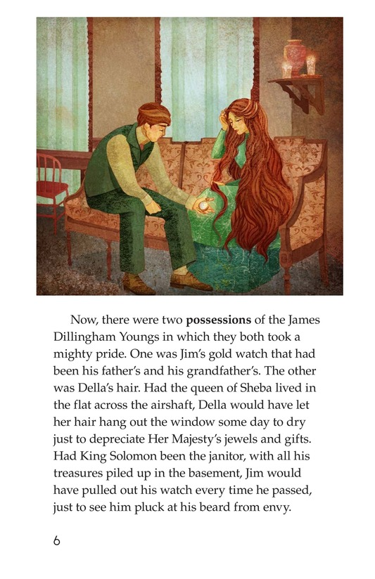 Book Preview For The Gift of the Magi Page 6