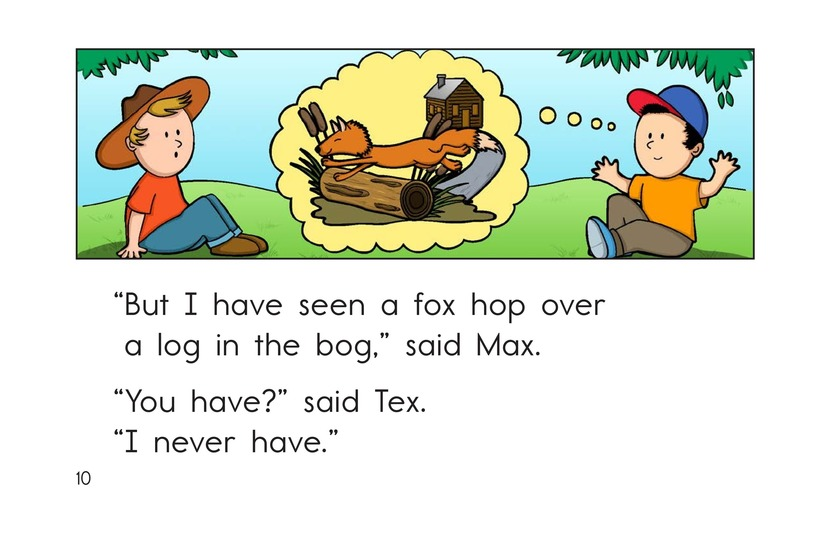 Book Preview For Have You Ever Seen a Fox? Page 10