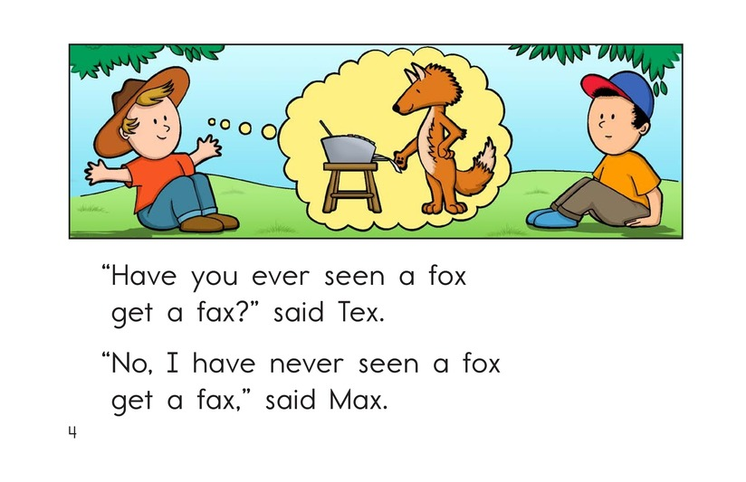 Book Preview For Have You Ever Seen a Fox? Page 4