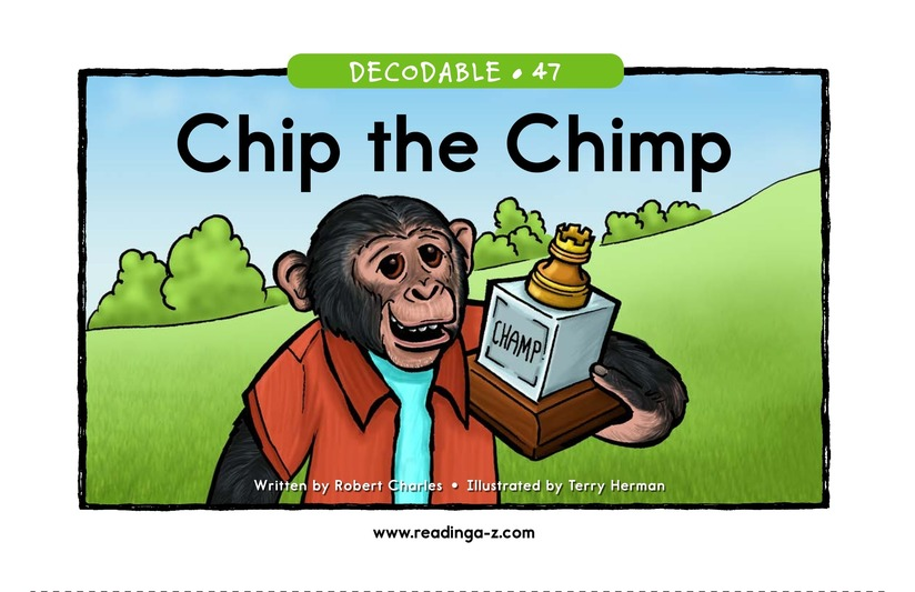 Book Preview For Chip the Chimp Page 1