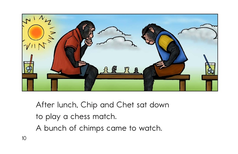 Book Preview For Chip the Chimp Page 10