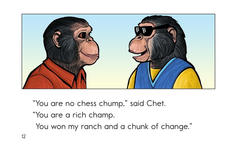 Book Preview For Chip the Chimp Page 12