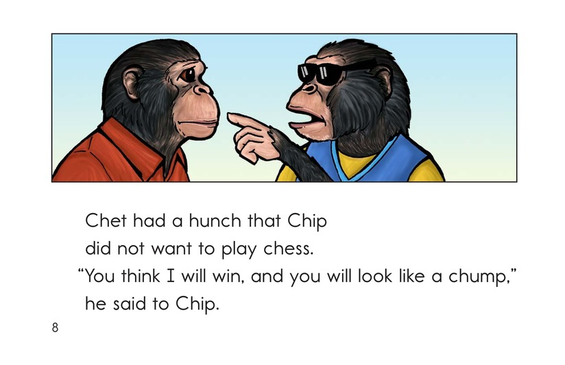 Book Preview For Chip the Chimp Page 8