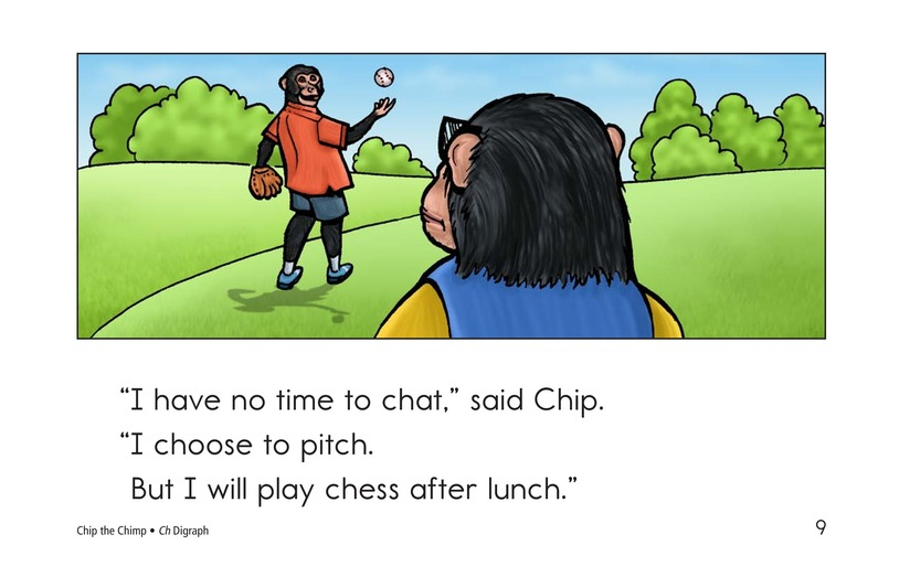 Book Preview For Chip the Chimp Page 9