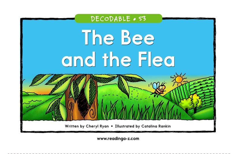 Book Preview For The Bee and the Flea Page 1