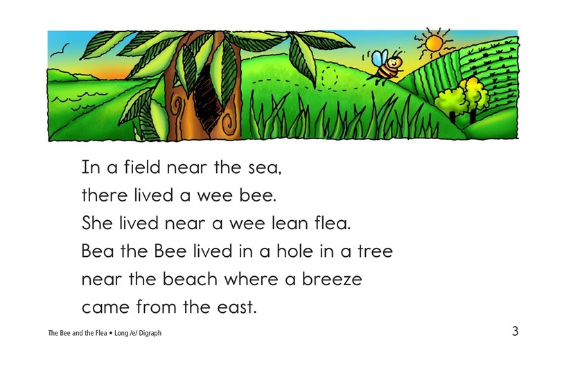 Book Preview For The Bee and the Flea Page 3