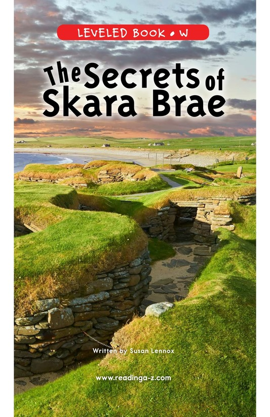 Book Preview For The Secrets of Skara Brae Page 0