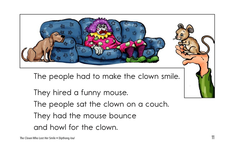 Book Preview For The Clown Who Lost Her Smile Page 11