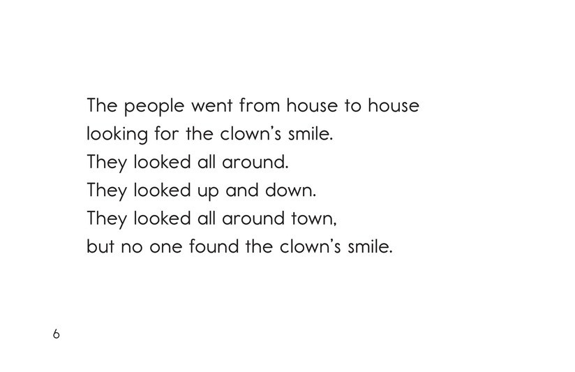 Book Preview For The Clown Who Lost Her Smile Page 6