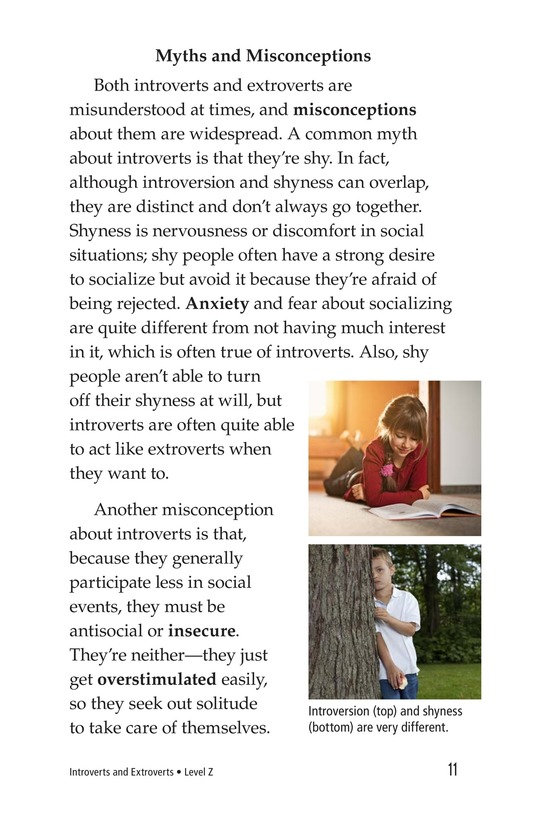 Book Preview For Introverts and Extroverts Page 11