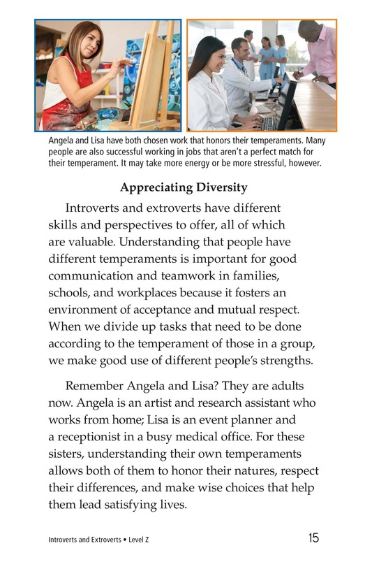 Book Preview For Introverts and Extroverts Page 15