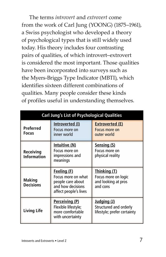 Book Preview For Introverts and Extroverts Page 7