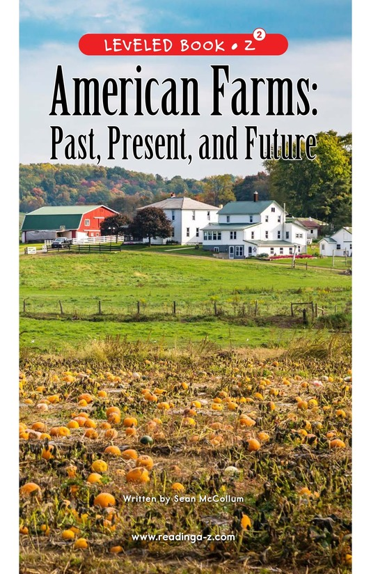 Book Preview For American Farms: Past, Present, and Future Page 0