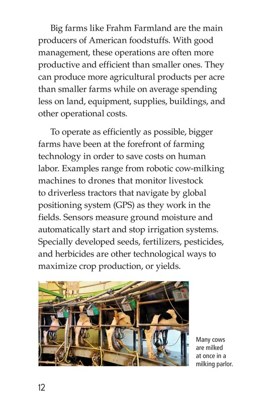 Book Preview For American Farms: Past, Present, and Future Page 12