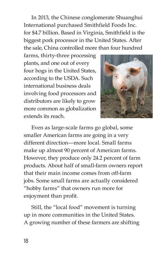 Book Preview For American Farms: Past, Present, and Future Page 18