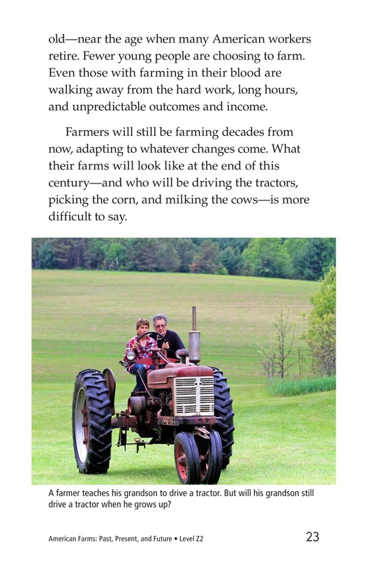 Book Preview For American Farms: Past, Present, and Future Page 23