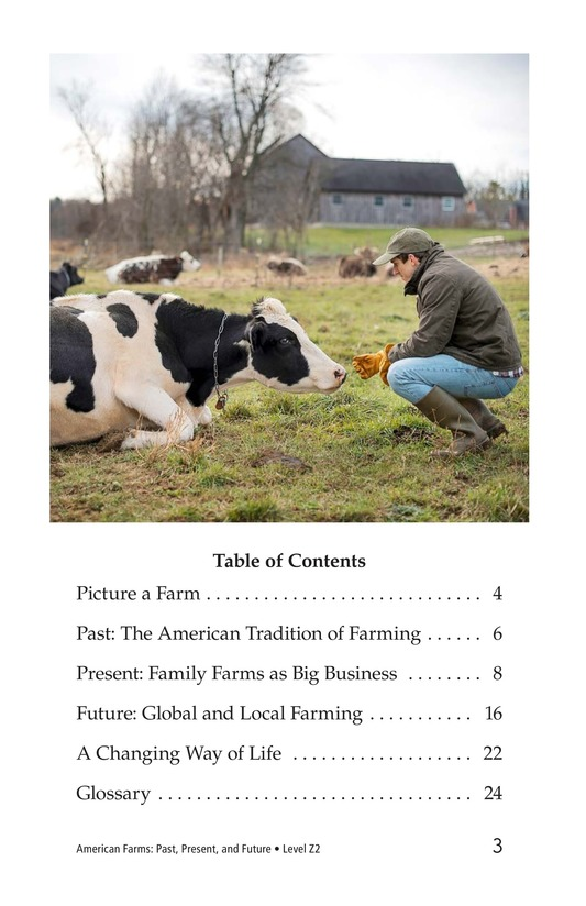 Book Preview For American Farms: Past, Present, and Future Page 3