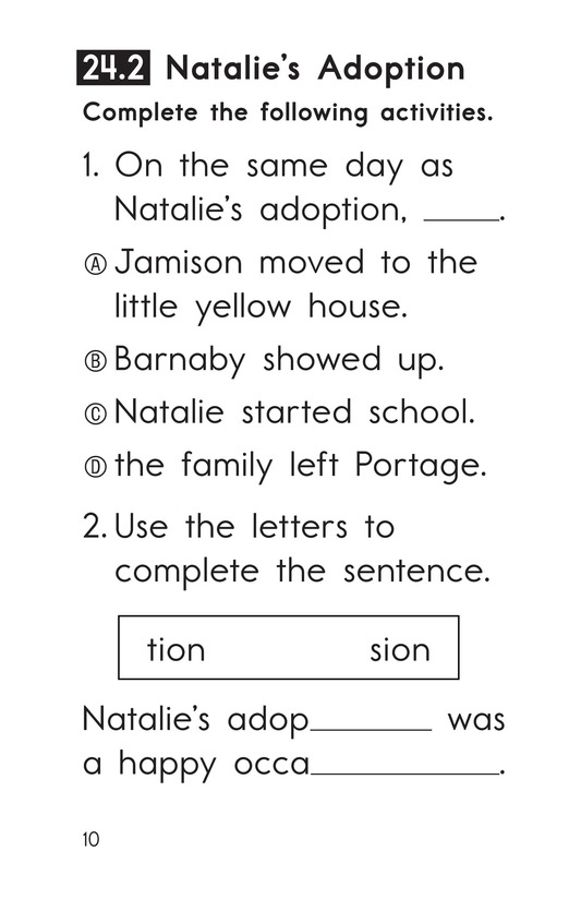 Book Preview For Decodable Passages Set 24 Book 1 Page 10