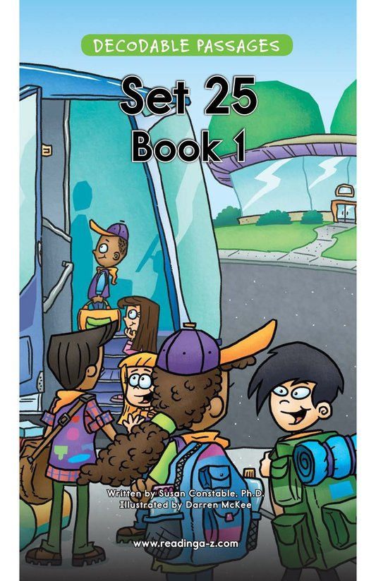 Book Preview For Decodable Passages Set 25 Book 1 Page 1