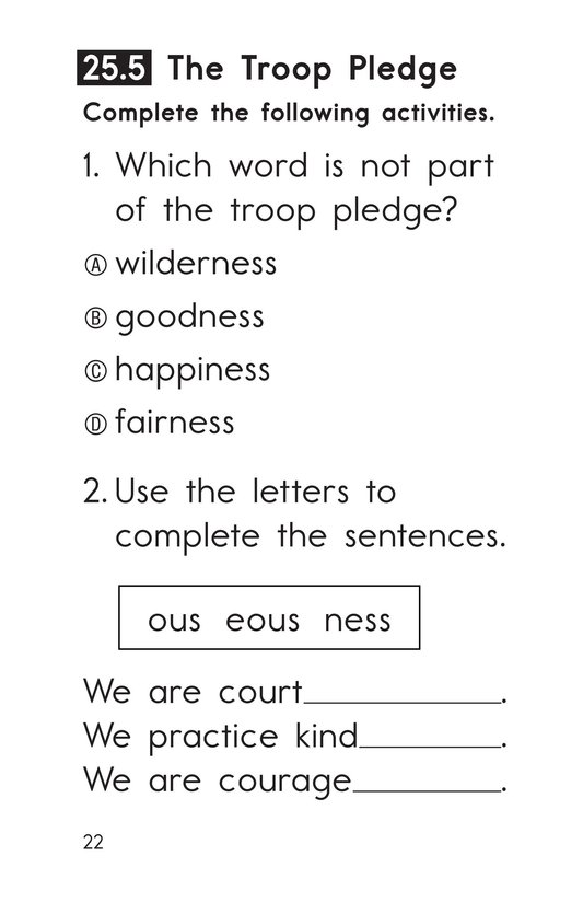 Book Preview For Decodable Passages Set 25 Book 1 Page 22