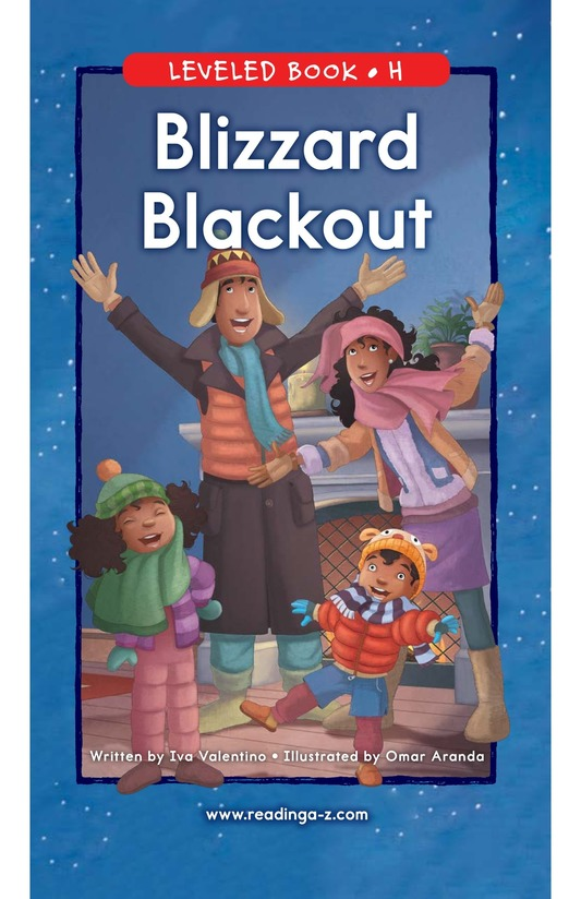 Book Preview For Blizzard Blackout Page 0