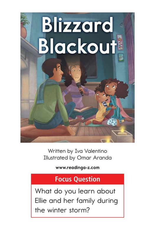 Book Preview For Blizzard Blackout Page 1