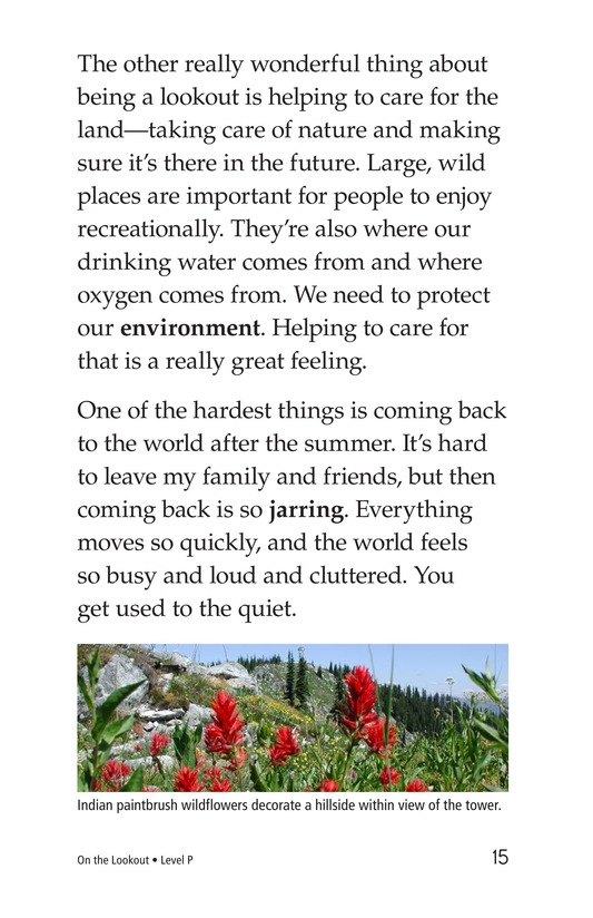 Book Preview For On the Lookout Page 15