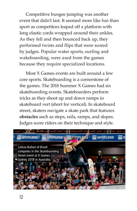 Book Preview For X Games Page 12