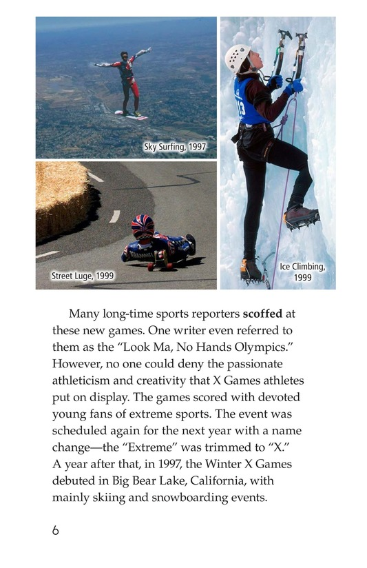 Book Preview For X Games Page 6