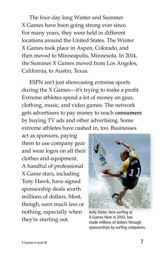 Book Preview For X Games Page 7
