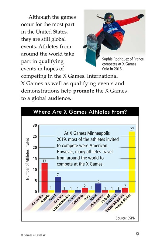 Book Preview For X Games Page 9